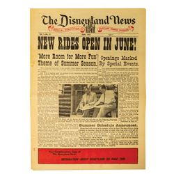 The Disneyland News Vol. 1 No. 12.