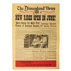 The Disneyland News Vol. 1 No. 12.
