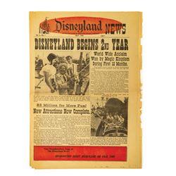 The Disneyland News Vol. 2 No. 1.