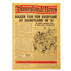 The Disneyland News Vol. 1 No. 1.