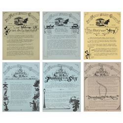 Collection of (6) Issues of The Main Street Gazette.