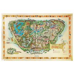 1958-B Disneyland Souvenir Map.