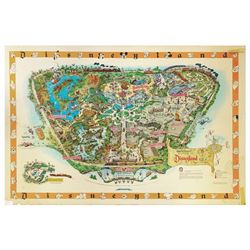 1958-B Disneyland Souvenir Map.
