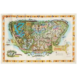 1958-C Disneyland Souvenir Map.