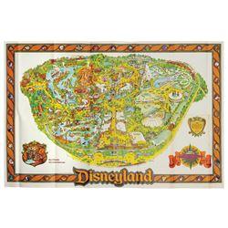 1979 Disneyland Souvenir Map.