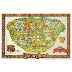 1979 Disneyland Souvenir Map.
