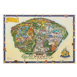 2005 Disneyland Souvenir Map.