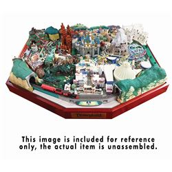 """My Disneyland"" Complete DeAgostini Park Model Kit."