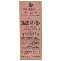 Grand Canyon Diorama Flyer.