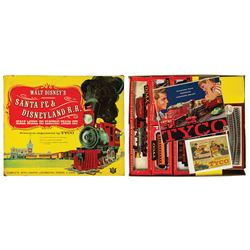 Santa Fe & Disneyland Railroad Set by Tyco.