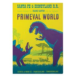Primeval World Attraction Poster.
