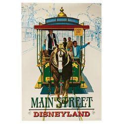 Main Street Near-Attraction Poster.