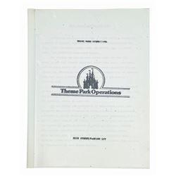 Main Street Cast Member Operations Manual.