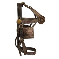 Owen Pope Disneyland Horse Bridle & Blinders.