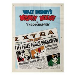 "Main Street Cinema ""The Dognapper"" Poster."