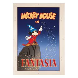 "Mickey's House ""Fantasia"" Poster."