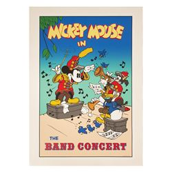 "Mickey's House ""The Band Concert"" Poster."