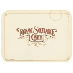 Town Square Cafe Placemat.