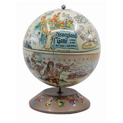 Disneyland Magnetic Game Globe.