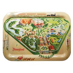Disneyland Map Tin Tray.