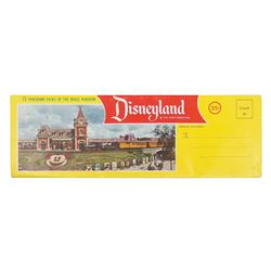 Disneyland Panoramic Views Mailer.