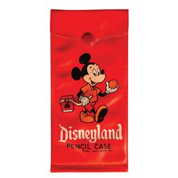 Disneyland Mickey Mouse Plastic Pencil Case.