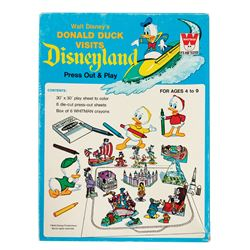 Donald Duck Visits Disneyland Activity Kit.