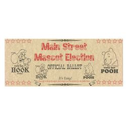 Main Street Mascot Election Ballot.