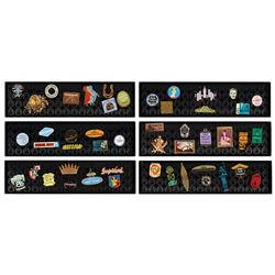 Collection of (6) Land Pin Sets.