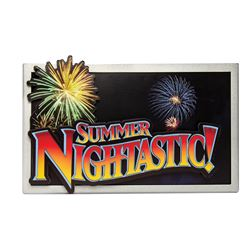 Summer Nightastic Sign.