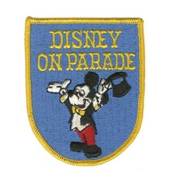 Disney on Parade Patch.