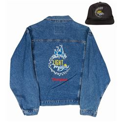 Light Magic Jean Jacket with Hat.