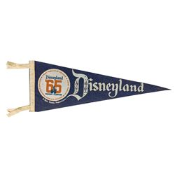 Tencennial Disneyland Pennant.