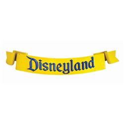Large Disneyland 50th Anniversary Entrance Sign.