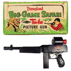 Disneyland Tru-Vue Big Game Safari Picture Gun.