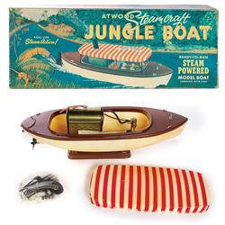Jungle Cruise Steam Powered Boat Toy in Box.