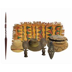 Collection of (8) Jungle Cruise Props.
