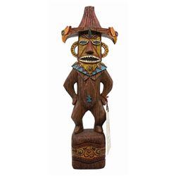 Enchanted Tiki Room Pele Big Figure.