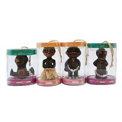 Set of (4) Enchanted Tiki Baby Figures.