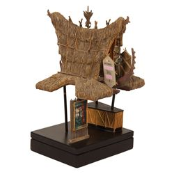 Enchanted Tiki Room Ticket Booth Model.