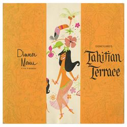 Tahitian Terrace Dinner Menu.
