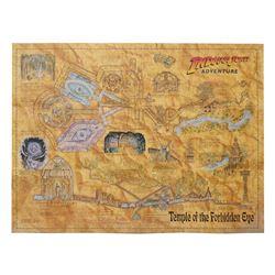 Indiana Jones Adventure Opening Year Field Map.