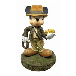 Mickey Mouse as Indiana Jones Limited Edition Statue.