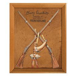 Davy Crockett Frontierland Sign.