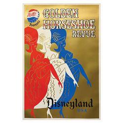 Original Golden Horseshoe Attraction Poster.