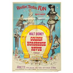 Golden Horseshoe Revue Theatrical Poster.