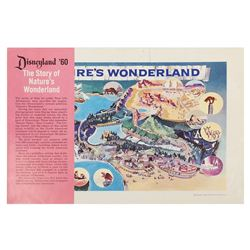 """""""The Story of Nature's Wonderland"""" Flyer."""