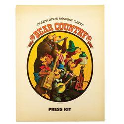 Bear Country Press Kit.
