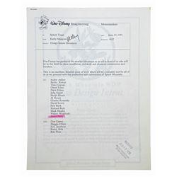 Splash Mountain Design Intent Document.