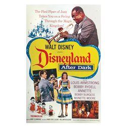 Disneyland After Dark One Sheet Poster.